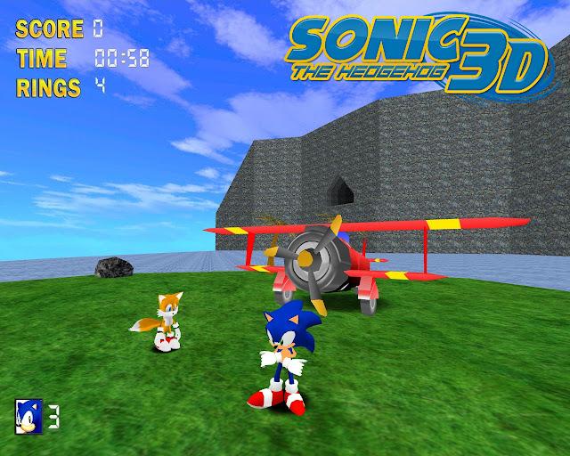 Sonic 3D para Linux