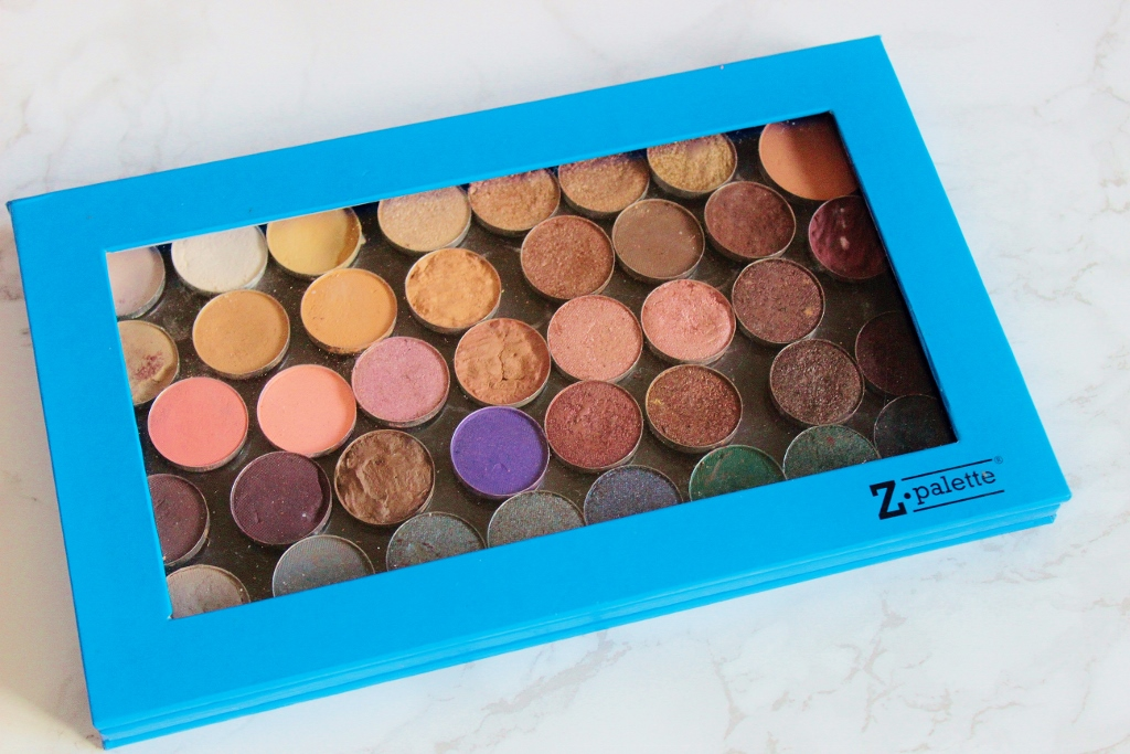 Z Palette with Sleek Eyeshadows