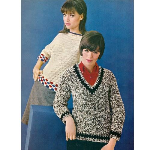 Vintage Knit Crochet Shop Talk Columbia Minerva 756 Crochet