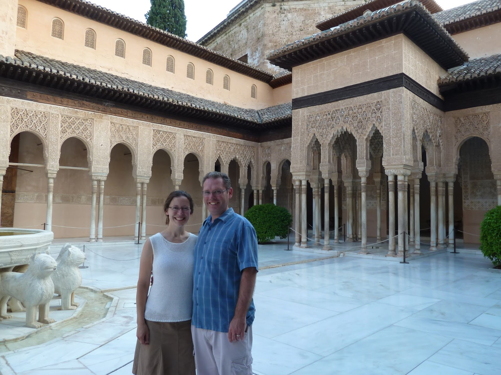 Signs of discovery granada spain alhambra pension for Alhambra decoration