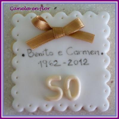 Canela en flor 50 a os de casados - Regalos 50 anos de casados ...