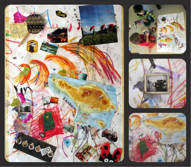 Collage Therapy with Kids