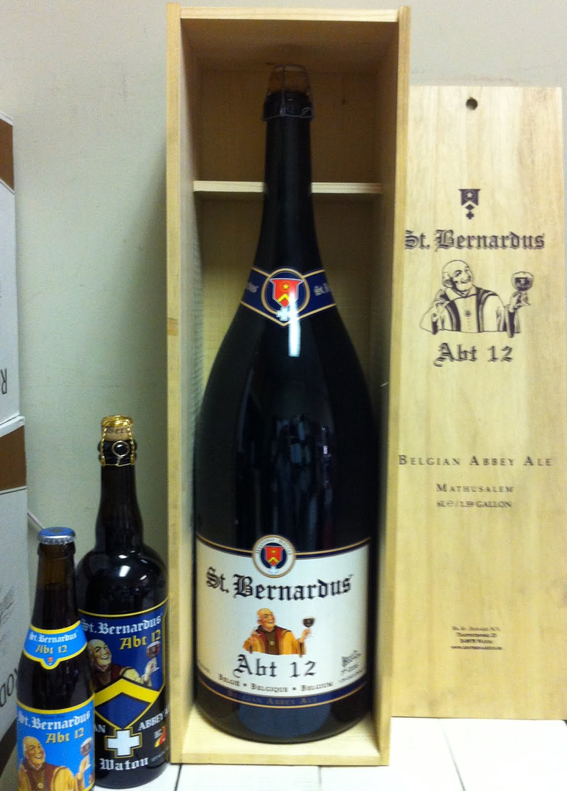 the wine and cheese place st bernardus 6 liter bottle. Black Bedroom Furniture Sets. Home Design Ideas