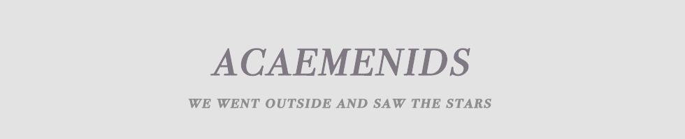 ACHAEMENIDS