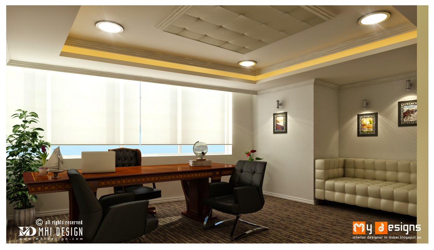 Office interior designs in dubai interior designer in for Office cabin interior