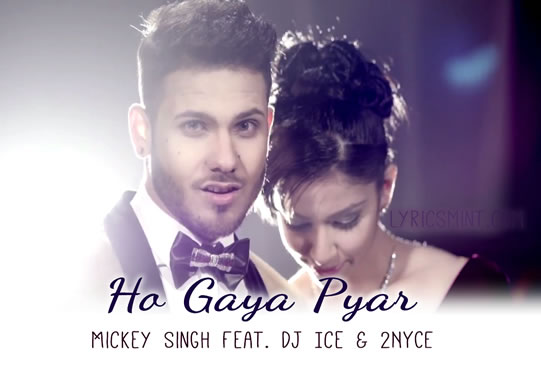 Mickey Singh - The lyrics to Tere Pyar Ka, submitted by...