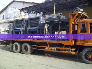 ekspor mesin cetak ke luar negeri