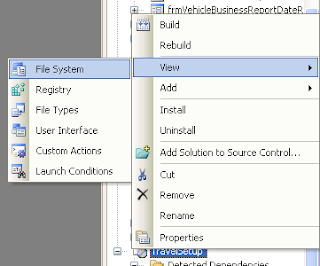 license agreement in visual studio setupproject