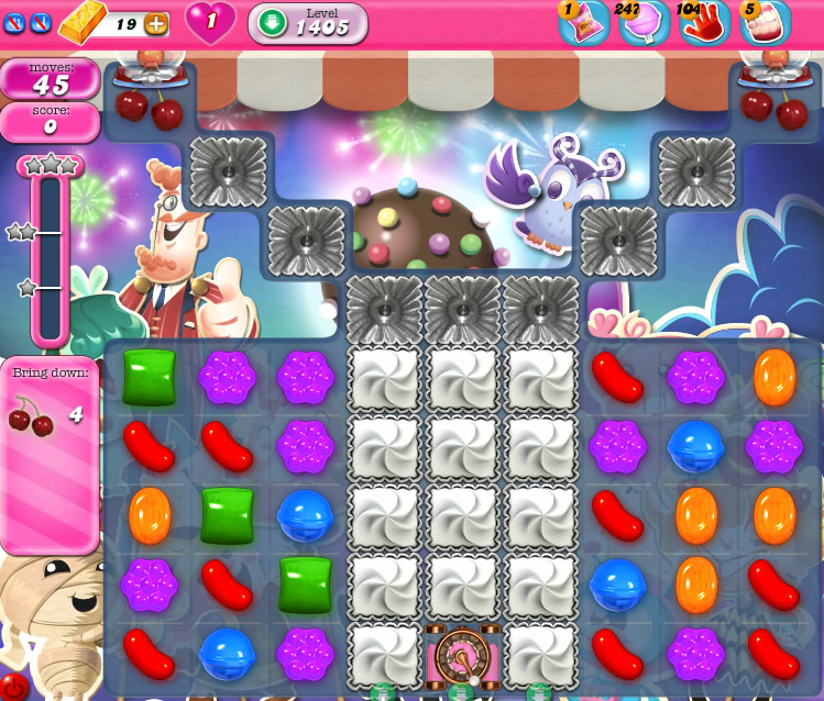 Candy Crush Saga 1405