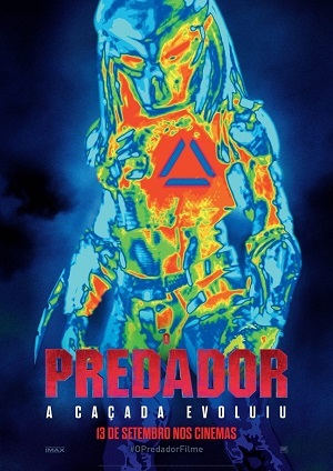 The Predator 2018 Bluray Torrent torrent download capa