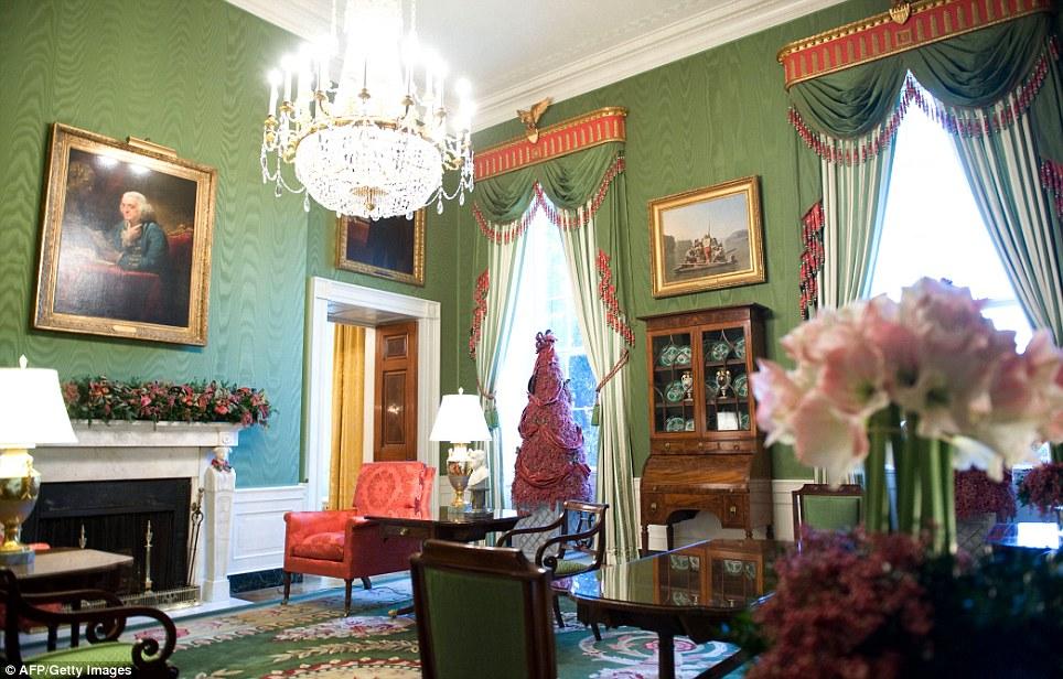 The Devoted Classicist Patricia Nixon S Green Room
