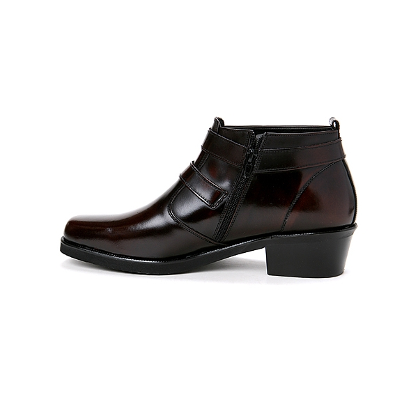 Mens Ankle Boots Zipper