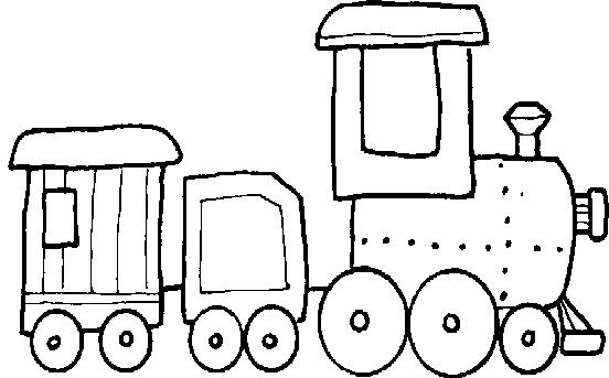 Coloriage train : imprimer dessin train à colorier