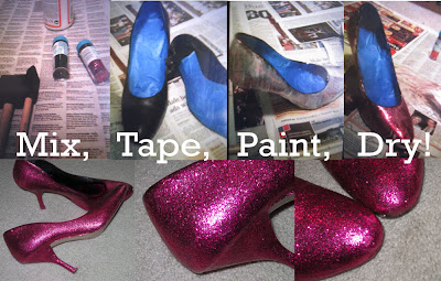 Glitter Fashion Projects