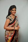 Syamala glamorous photos in saree-thumbnail-1