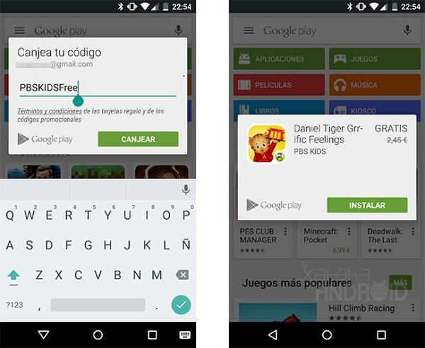 google-play-regala-aplicación-pago