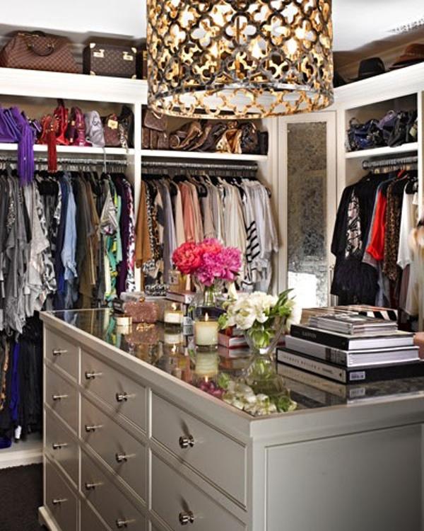 closet - wardrobe - roupas - quarto - decoração