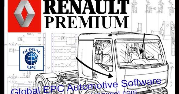 Global Epc Automotive Software  Renault Premium Workshop