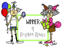 I Won at Bugaboo Digi Stamps January 2014