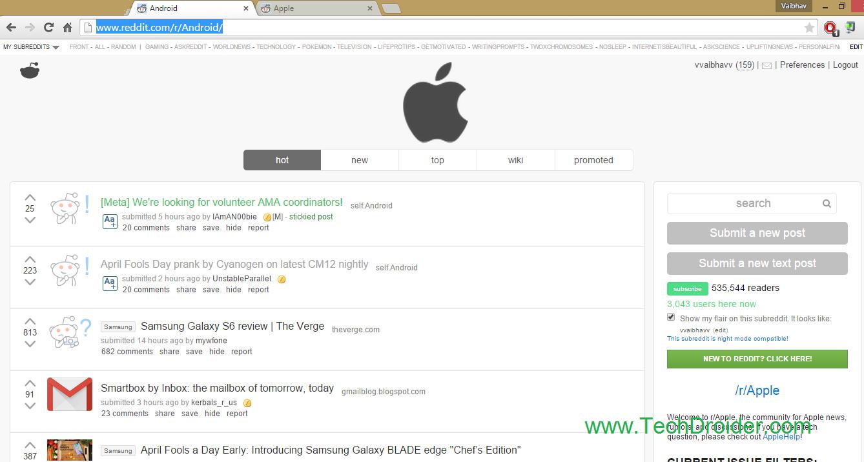 Reddit april fool prank Android apple