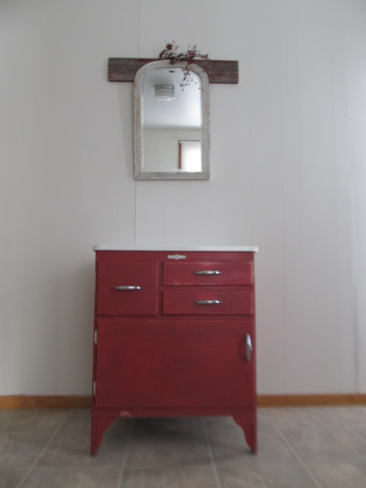 Napanee Hoosier Cabinet Make Over!!