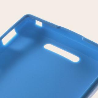 TPU Jelly Case Sony Xperia C C2305 S39h - Blue