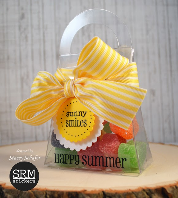 SRM Stickers Blog - Sweet Summer Treats by Stacey -  #purse #box #gift #favors #punched pieces, #stickers, #summer