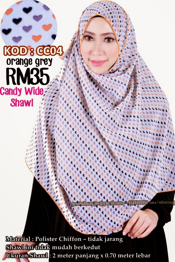 CANDY WIDE SHAWL