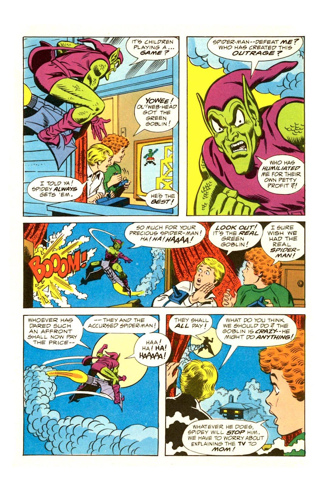 Kleefeld on comics spider man game ads - Marvel spiderman comics pdf ...