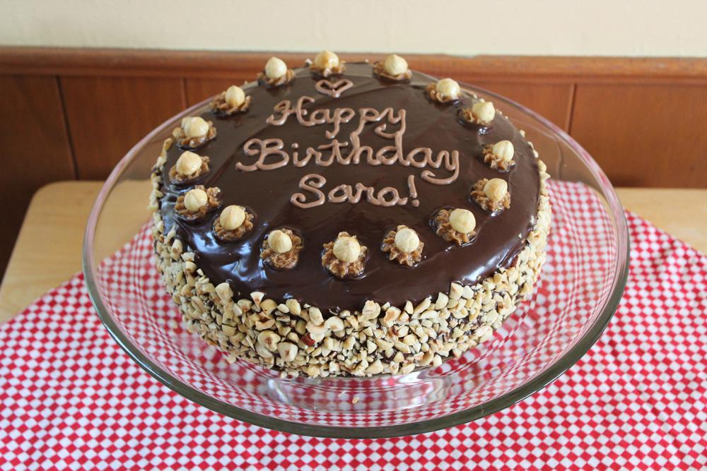 Vegan Eats And Treats Chocolate Hazelnut Birthday Cake