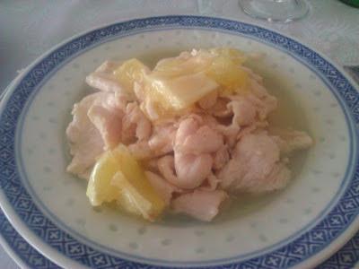 Pollo al limone al ristorante cinese Giardino di Giada di Biella