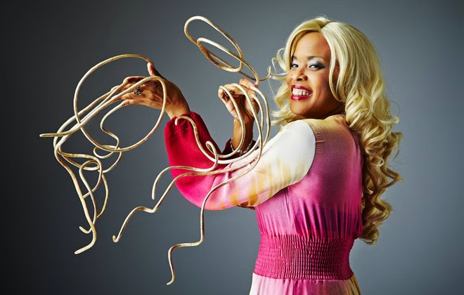 The Longest Fingernails In World Today Belong To Christine Walton From Las Vegas Nevada USA Originally Measured As New Record Holder February