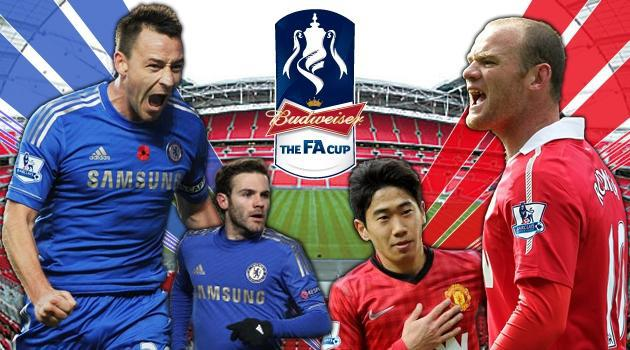 Keputusan Chelsea vs Manchester United 1 April 2013 - FA Cup