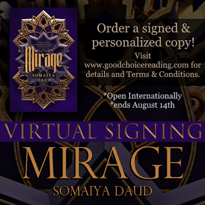 Mirage by Somaiya Daud Virtual Signing!