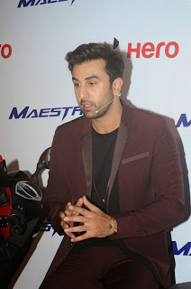 Ranbir Kapoor launches Hero MotoCorp (7).JPG