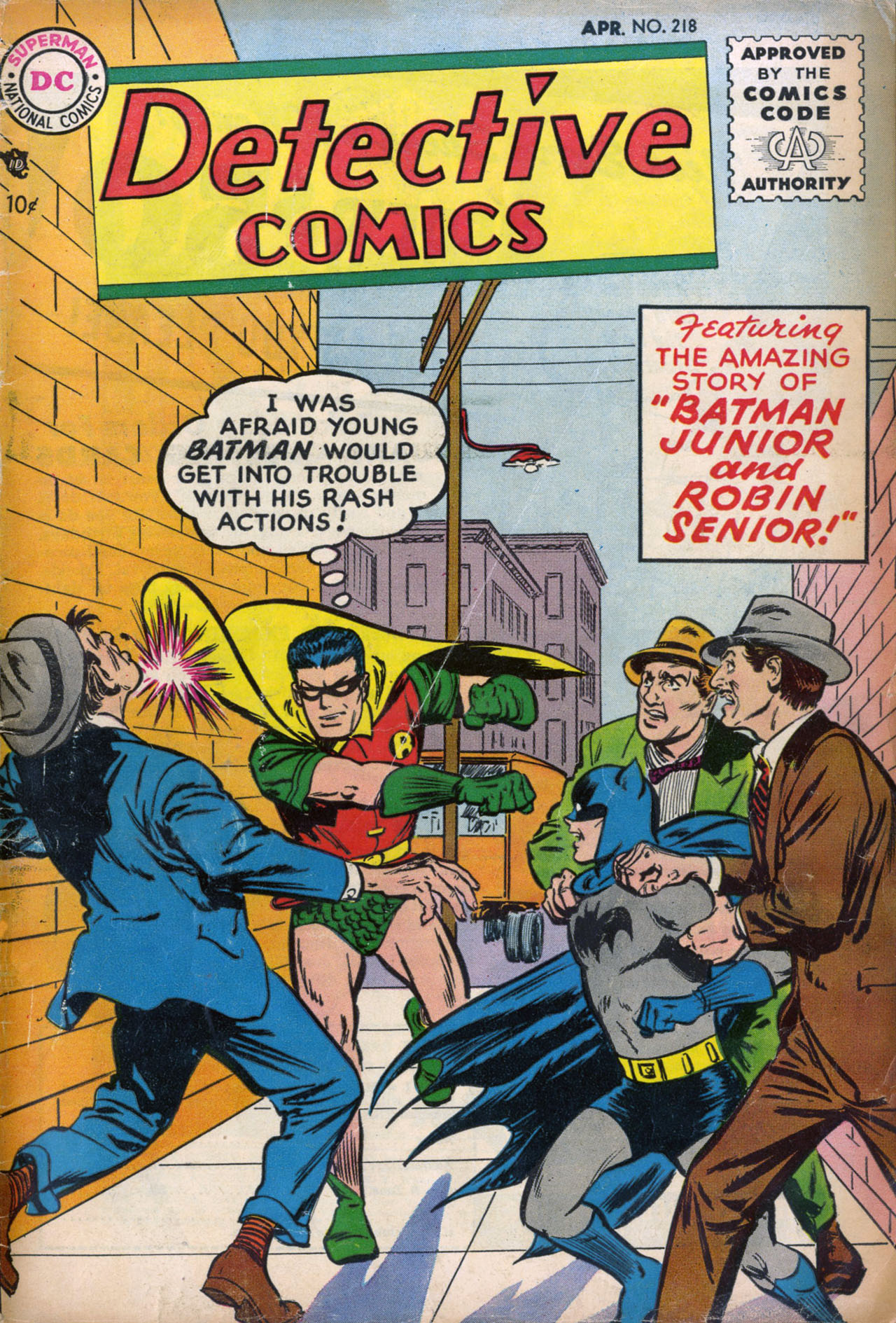 Detective Comics (1937) 218 Page 1