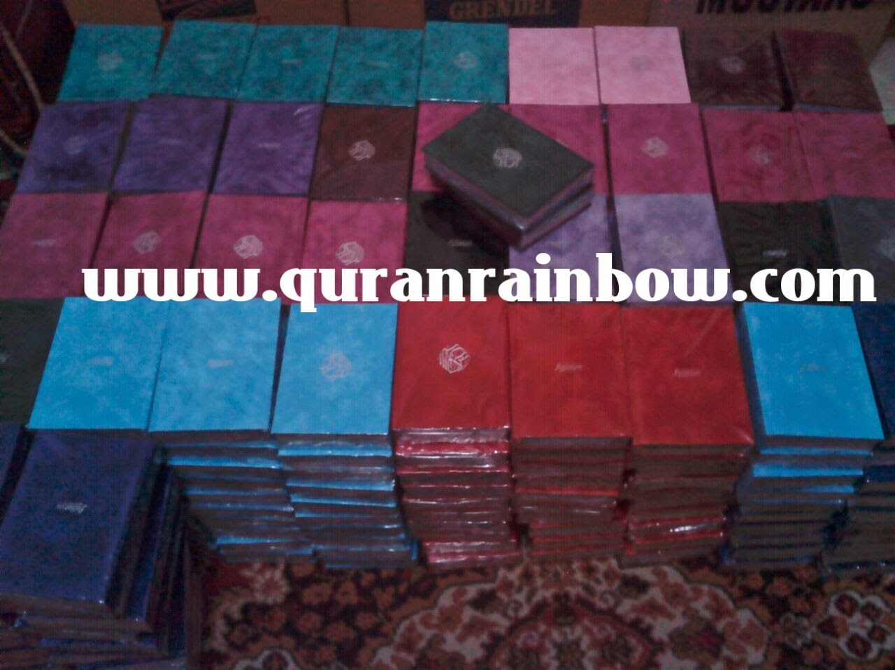 Suplier Rainbow Quran, Rainbow Quran Worldwide