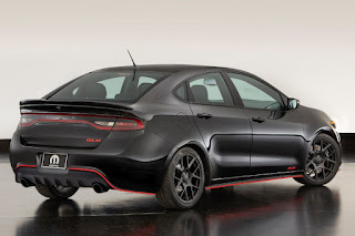 Dodge Dart GLH Concept (2015) Rear Side