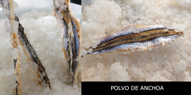 Polvo de anchoa