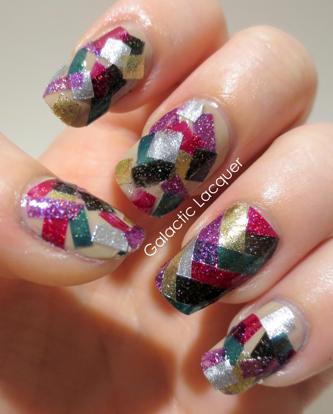 Galactic Lacquer: Painting in the New Year - Confetti
