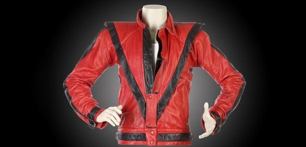 Jaket merah putih Micheal Jackson