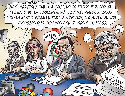 economia peruana en el gobierno de toledo: