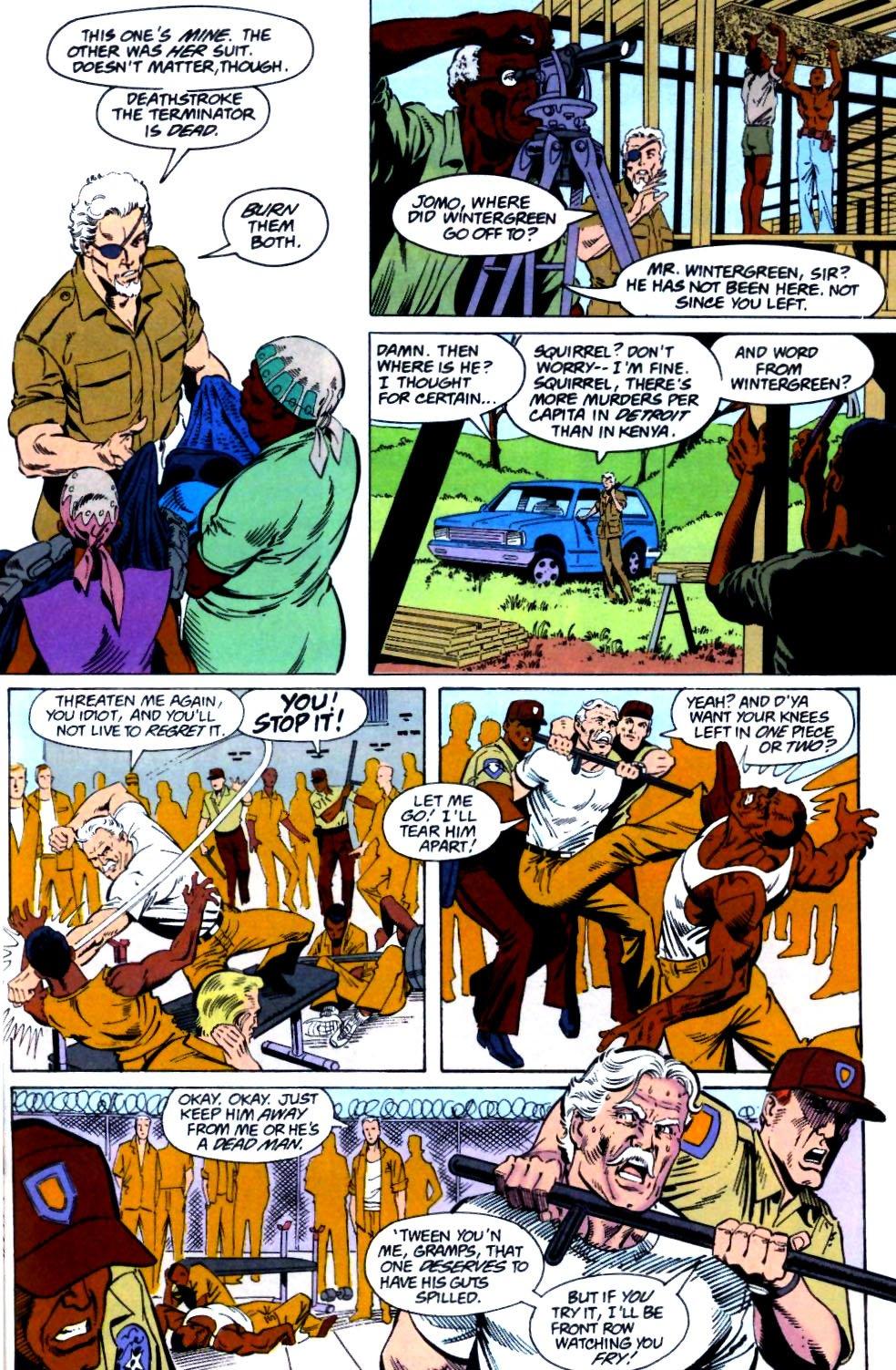 Deathstroke (1991) Issue #26 #31 - English 6