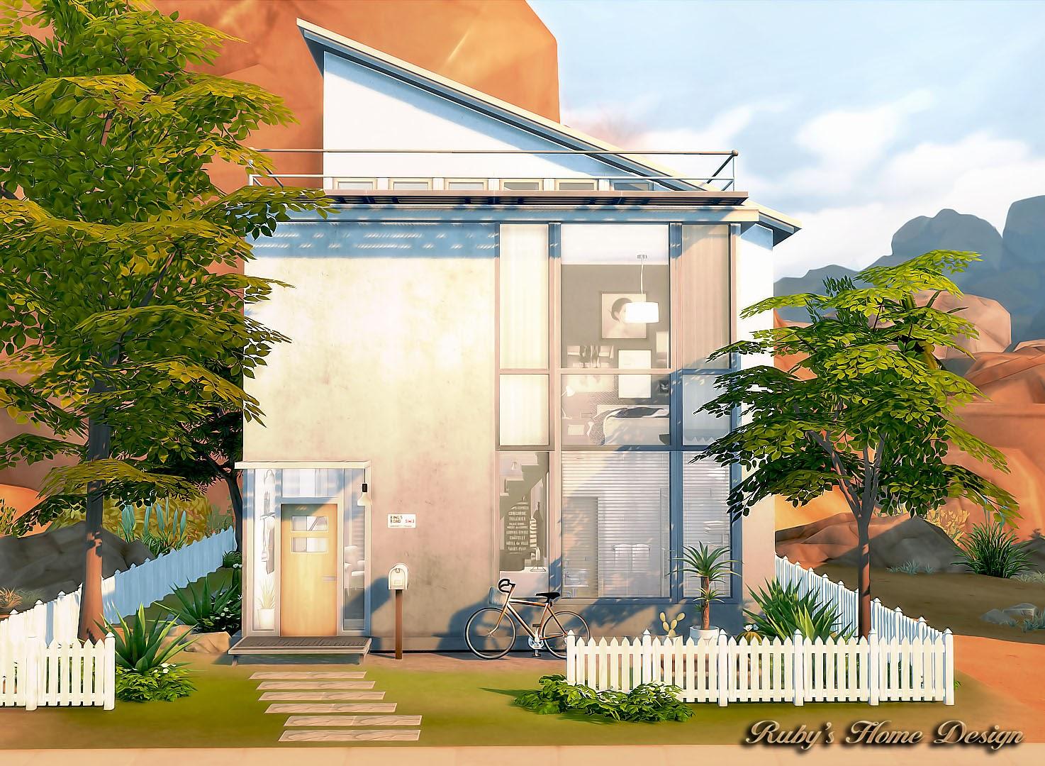 Sims4 Artistu0027s House 藝術家的房子