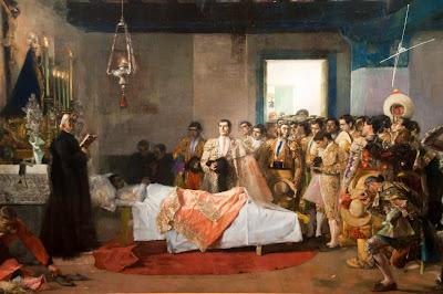 Los rincones de mi sevilla la muerte del torero for Todo pintura sevilla
