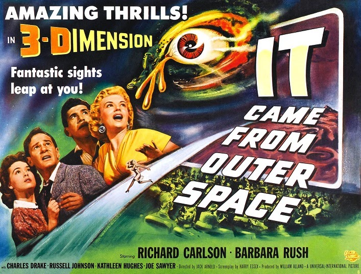 Black hole reviews classic 3 d horror films not for for Watch it came from outer space