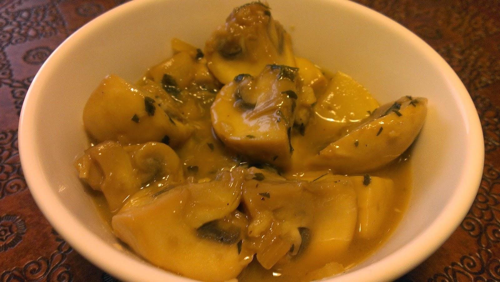 Cocinando con f tima champi ones en salsa for Cocinando 15 minutos con jamie