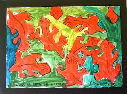 Escher releitura ,João 7 anos