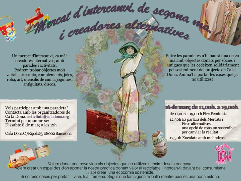 La Veronica Cartonera al Mercat de Ca la Dona