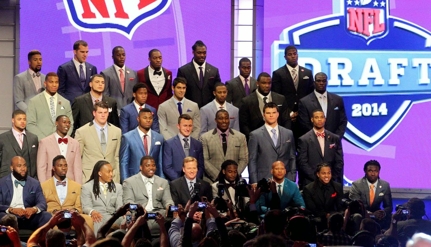 2014 NFL Draft fashion